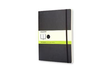 Picture of Moleskine Soft Extra Large Plain Notebook Black