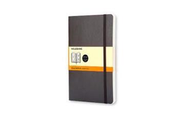 Picture of Moleskine Soft Cover Pocket Ruled Notebook Black
