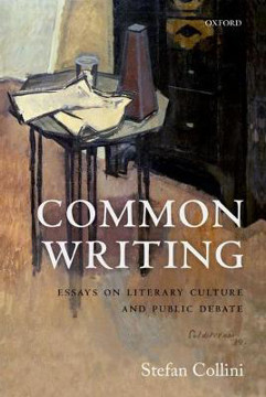 Picture of Common Writing: Essays on Literary Culture and Public Debate