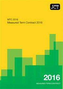 Picture of JCT:Measured Term Contract 2016