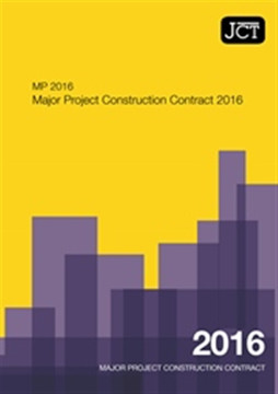 Picture of JCT:Major Project Construction Contract 2016