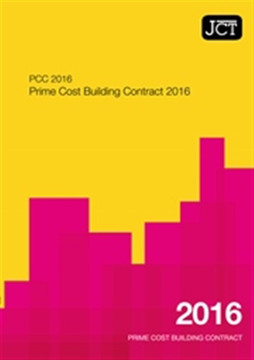 Picture of JCT:Prime Cost Building Contract 2016
