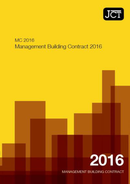 Picture of JCT: Management Building Contract 2016