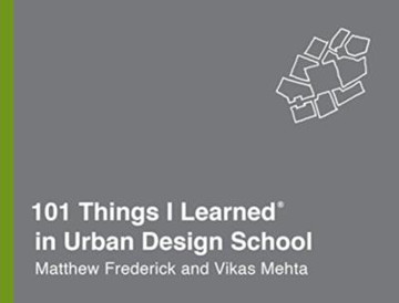 Picture of 101 Things I Learned in Urban Design School