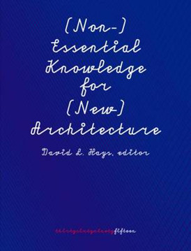 Picture of (Non-)Essential Knowledge for (New) Architects