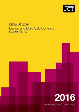 Picture of JCT: Design & Build Sub Contract Guide 2016