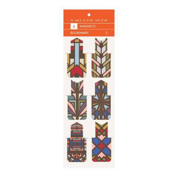Picture of Frank Lloyd Wright Designs Magnetic Bookmarks