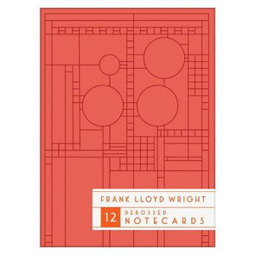 Picture of Frank Lloyd Wright Bright Geometric Debossed Notecards