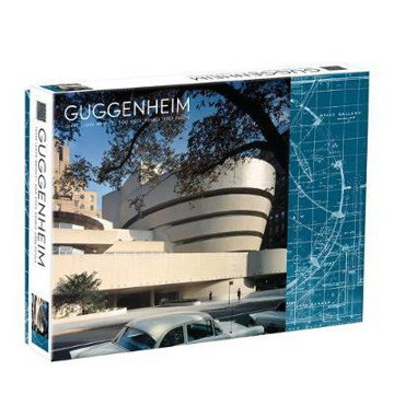 Picture of Frank Lloyd Wright Guggenheim 2-Sided 500 Piece Puzzle