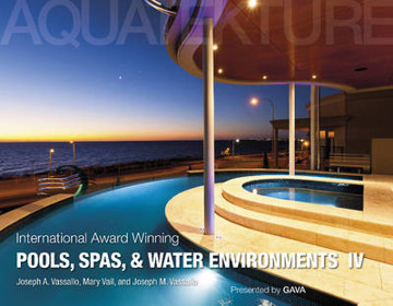 Picture of International Award Winning Pools, Spas, and Water Environments IV
