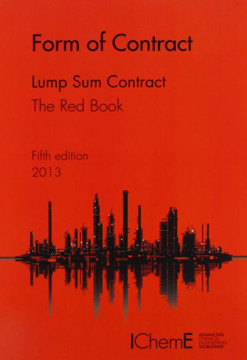 Picture of IChemE Form of Contract - The Red Book - Lump Sum Contracts 5th Edition