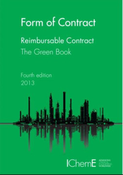 Picture of ICheme - Form of Contract: Reimbursable Contracts. The Green Book