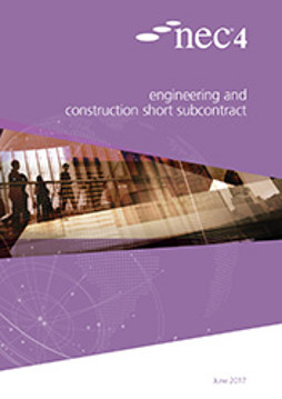 Picture of NEC4: Engineering and Construction Short Subcontract