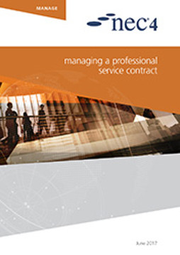 Picture of NEC4: Managing a Professional Service Contract