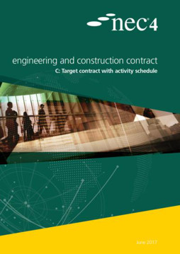 Picture of NEC4: Engineering and Construction Contract Option C: target contract with activity schedule