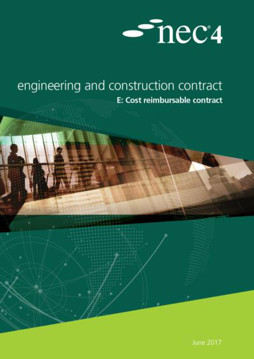 Picture of NEC4: Engineering and Construction Contract Option E: cost reimbursable contract