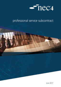 Picture of NEC4: Professional Service Subcontract