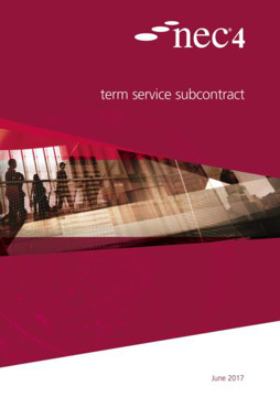 Picture of NEC4: Term Service Subcontract