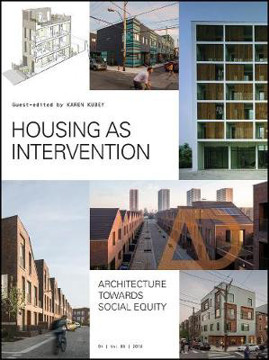 Picture of Housing as Intervention: Architecture towards social equity