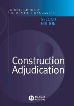 Picture of Construction Adjudication