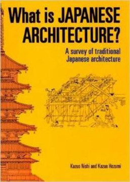 Picture of What Is Japanese Architecture?: A Survey Of Traditional Japanese Architecture