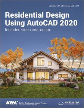 Picture of Residential Design Using AutoCAD 2020