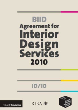 Picture of BIID Agreement for Interior Design Services: ID/10: 2010