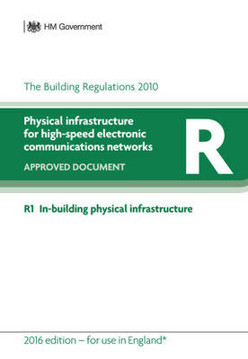 Picture of Approved Document R: Physical infrastructure for high-speed electronic communications networks