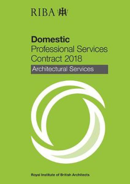 Picture of RIBA Domestic Professional Services Contract 2018 : Architectural Services