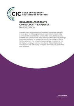 Picture of COLLATERAL WARRANTY CONSULTANT - EMPLOYER