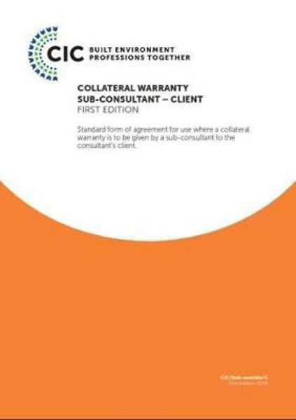 Picture of COLLATERAL WARRANTY SUB-CONSULTANT - CLIENT