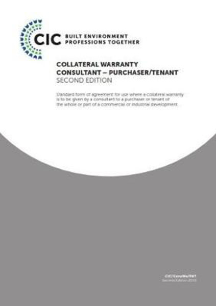 Picture of COLLATERAL WARRANTY CONSULTANT - PURCHASER/TENANT