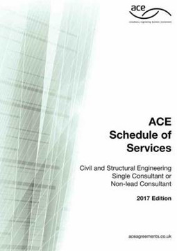 Picture of ACE Schedule of Services - Civil & Structural Engineering Single Consultant or Non-Lead Consultant