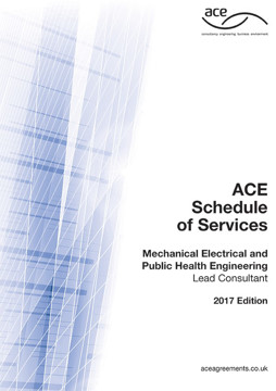 Picture of ACE 2017 Schedule of Services: Mechanical, Electrical, Public Health Engineering Lead Consultant 2017