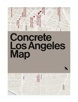Picture of Concrete Los Angeles Map: Guide to concrete and Brutalist architecture in Los Angeles, California