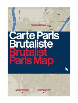 Picture of Brutalist Paris Map: Guide to Brutalist Architecture in and near Paris