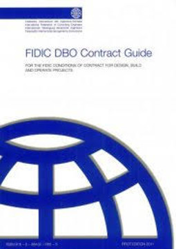 Picture of FIDIC (FC-DB-G-AA-09) DBO (2008 Gold Book) Contract Guide 1st Edition 2011