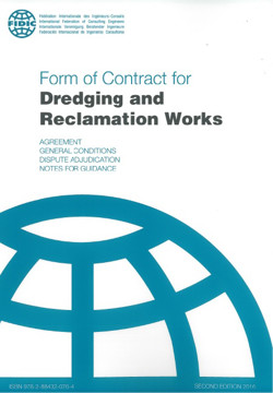 Picture of FIDIC 2016 (FC-AK-C-AA-10) Form of Contract for Dredging and Reclamation Works