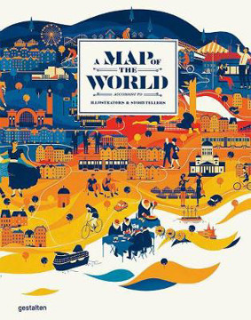 Picture of A Map of the World (Updated & Extended Version): The World According to Illustrators and Storytellers