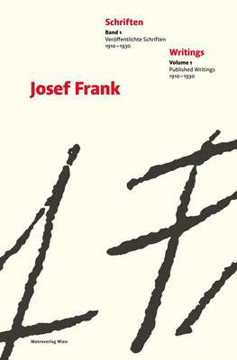 Picture of Josef Frank - Writings Vol 1 & 2