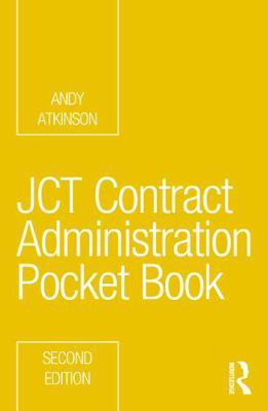 Picture of JCT Contract Administration Pocket Book