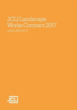 Picture of JCLI 2017 Landscape Works Contract