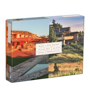 Picture of Frank Lloyd Wright Taliesin and Taliesin West 500 Piece Double-Sided Puzzle