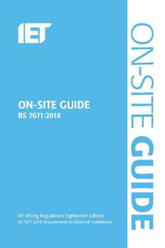Picture of IET On-Site Guide (BS 7671:2018)
