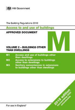 Picture of Approved Document M: Access to and use of buildings - Volume 2: Buildings other than dwellings