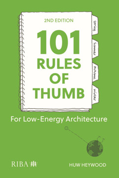 Picture of 101 Rules of Thumb for Low-Energy Architecture