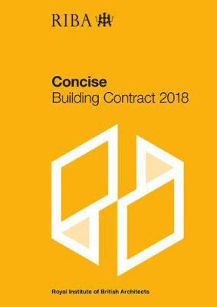 Picture of RIBA Concise Building Contract 2018
