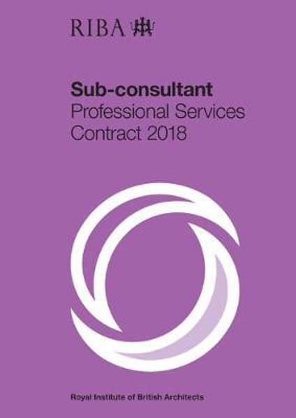 Picture of RIBA Sub-consultant Professional Services Contract 2018