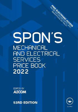 Picture of Spon's Mechanical and Electrical Services Price Book 2022