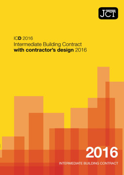 Picture of JCT: Intermediate Building Contract with Contractor's Design 2016 (ICD)
